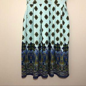 LuLaRoe Dresses - NWT LuLaRoe Amelia Dipped Paisley Ombré Dress